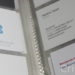folder of business cards