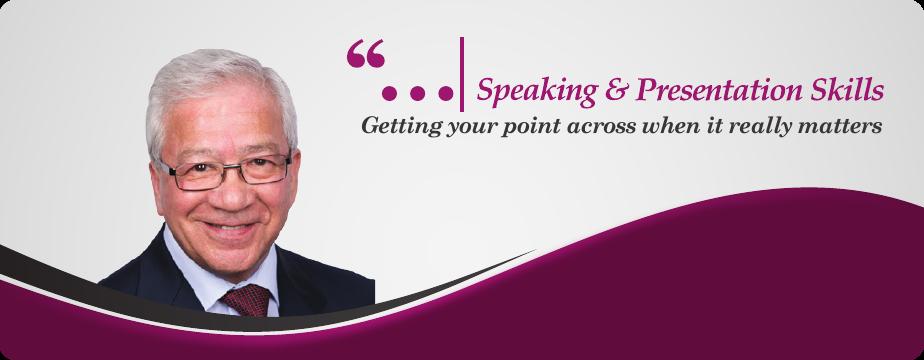 Speaking and Presentation Skills